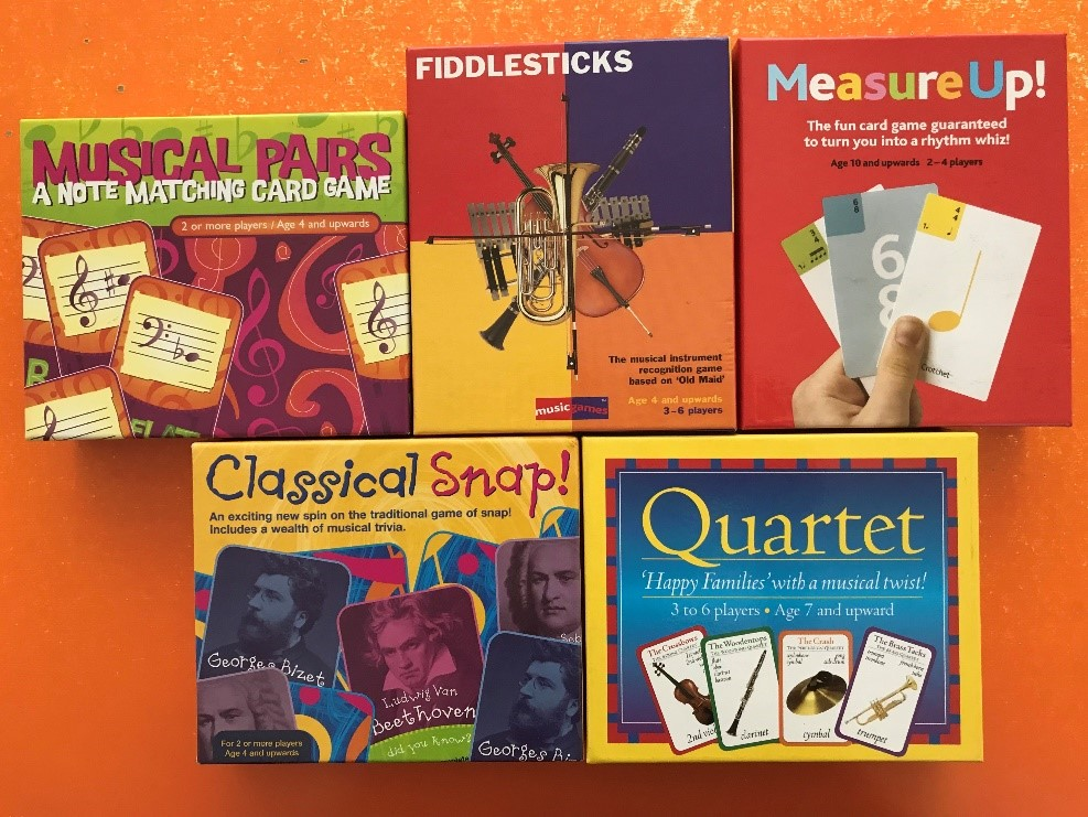 Musical Card Games - Fun Learning Activities