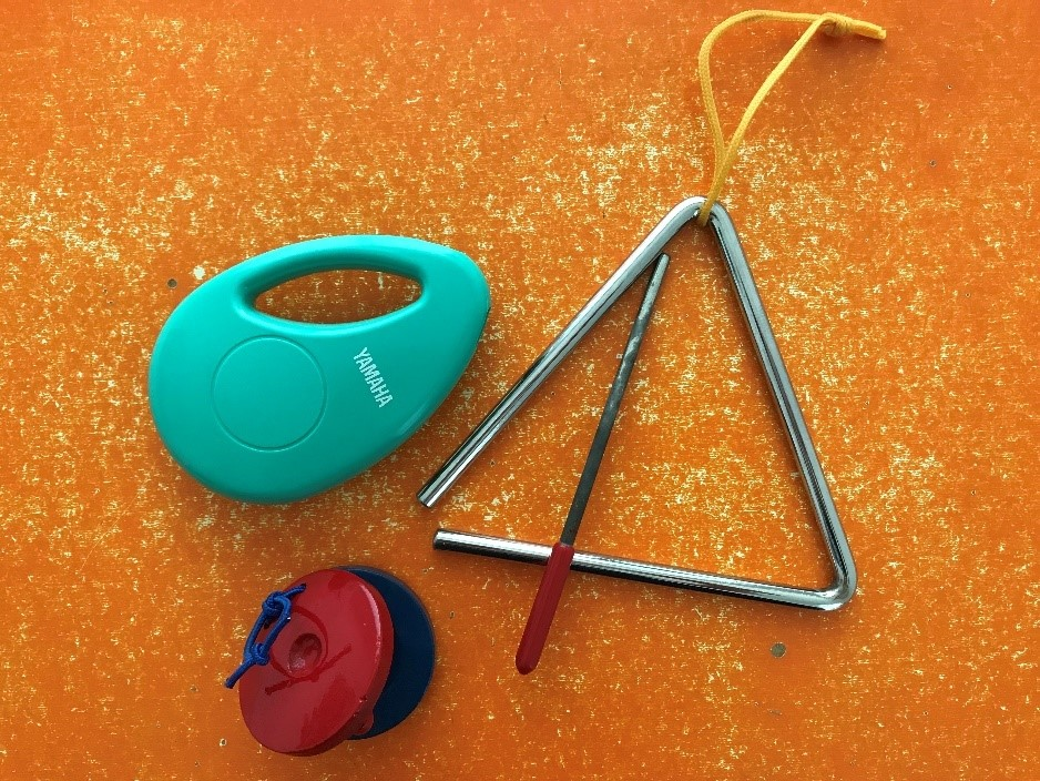 Instruments for Tapping Rhythm - Fun Learning Activities